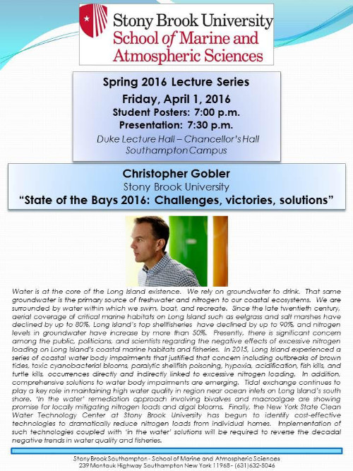 Spring 2016 Lecture Series